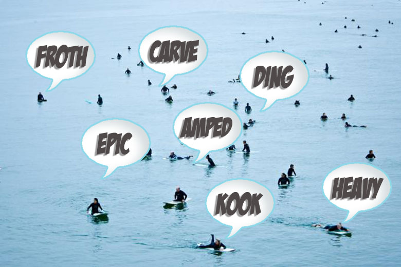 Surfing Terms, Talk, Phrases and Slang - Over 260 Entries!